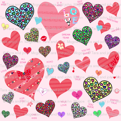 Candy Heart Love
