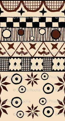 Savage Tribe Fabric
