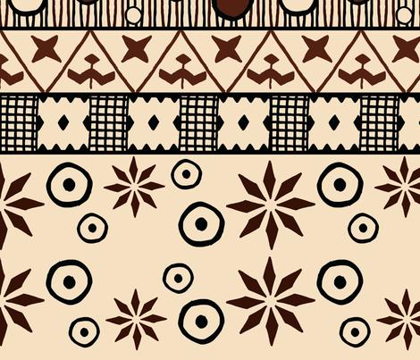 Savage Tribe Fabric fabric by pirophobia on Spoonflower - custom fabric