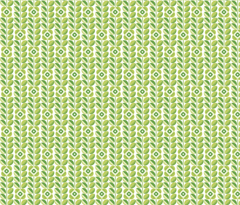 Flower apple fabric by cjldesigns on Spoonflower - custom fabric