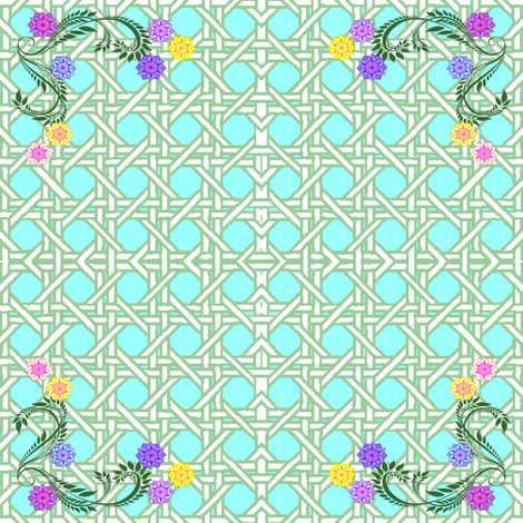 lattice fabric by krs_expressions on Spoonflower - custom fabric