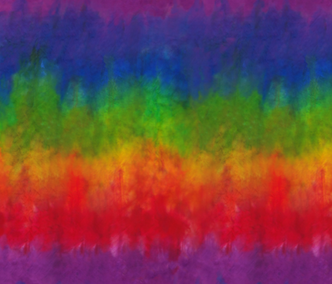 Rainbow Tie Dye Look fabric by theplayfulcrow on Spoonflower - custom fabric