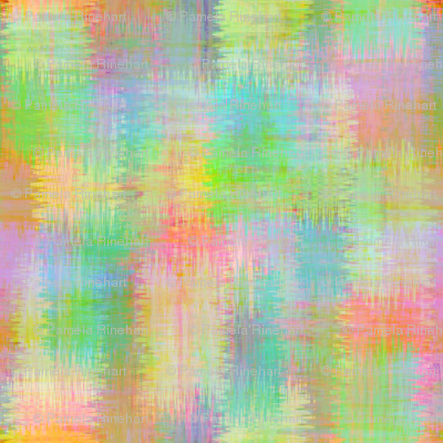 Approximate plaid - pastel brush