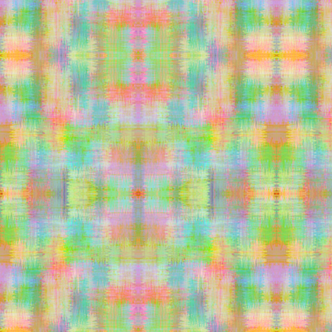 Approximate plaid - pastel brush fabric by glimmericks on Spoonflower - custom fabric