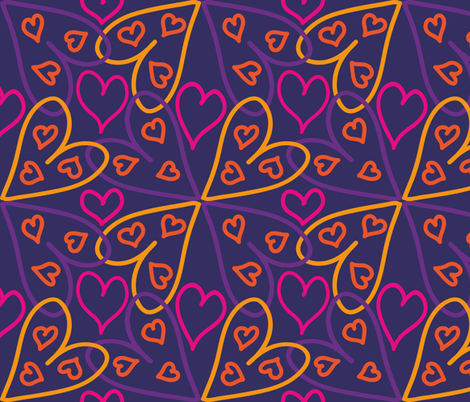 valentine_1_2000px fabric by mirandamol on Spoonflower - custom fabric