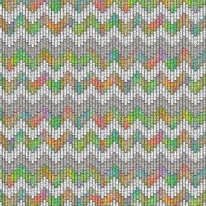 inuit chevron rainbow