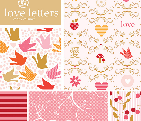love letters by rozo / birds