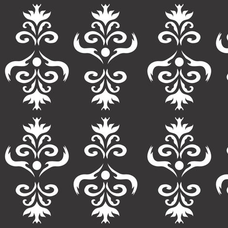 BL_Eagle_chandelier fabric by michelle_zollinger_tams on Spoonflower - custom fabric