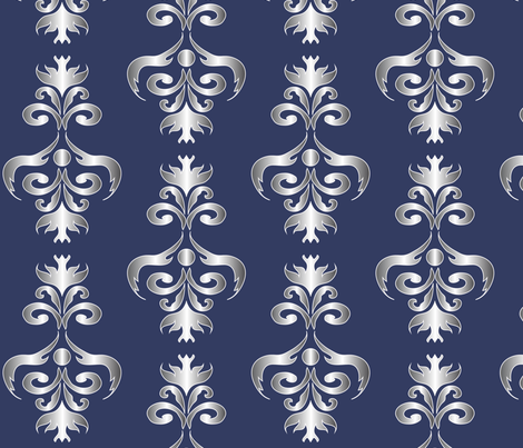 LG_Grey_Eagle_chandelier fabric by michelle_zollinger_tams on Spoonflower - custom fabric