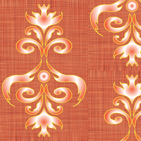 LG_Sunburst_Eagle_Chandelier fabric by michelle_zollinger_tams on Spoonflower - custom fabric