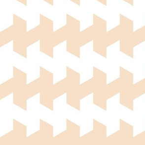 jaggered and staggered in pearl