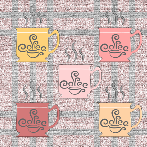 coffee fabric by krs_expressions on Spoonflower - custom fabric