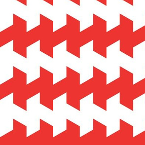 jaggered and staggered in carnelian