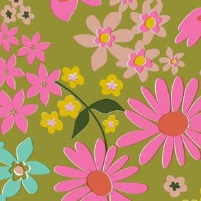 more vintage floral wallpaper