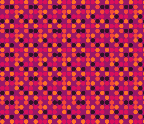 Indian Polka Dots fabric by sugarxvice on Spoonflower - custom fabric