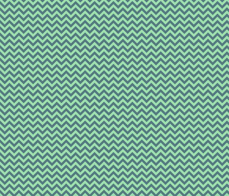 Sea Chevron fabric by sugarxvice on Spoonflower - custom fabric