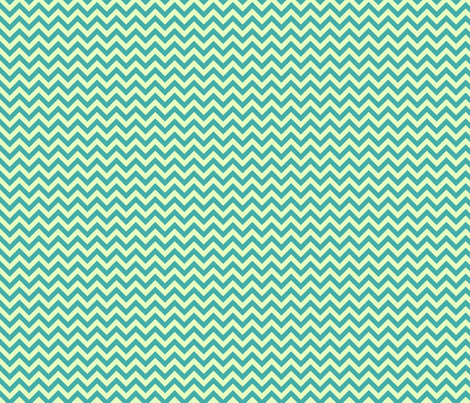Bright Sea Chevron fabric by sugarxvice on Spoonflower - custom fabric