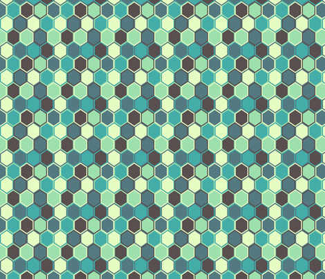 Mesmeric Shell fabric by sugarxvice on Spoonflower - custom fabric