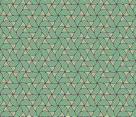 Half Shell fabric by sugarxvice on Spoonflower - custom fabric