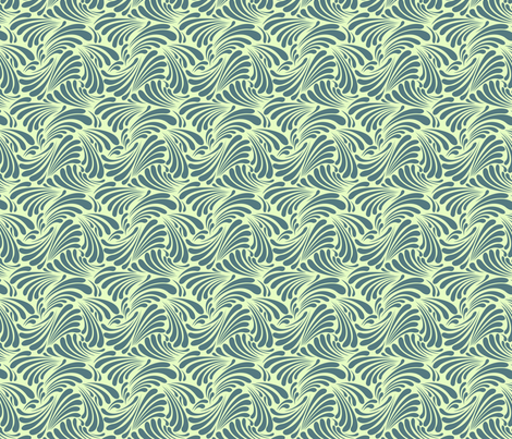 Steady Waves fabric by sugarxvice on Spoonflower - custom fabric