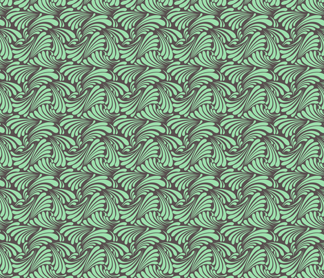Dead Sea Waves fabric by sugarxvice on Spoonflower - custom fabric