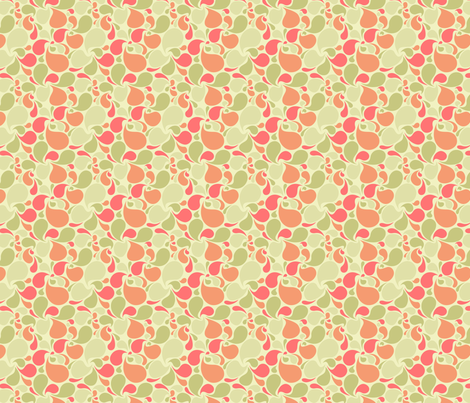 Another Splash of Melon fabric by sugarxvice on Spoonflower - custom fabric