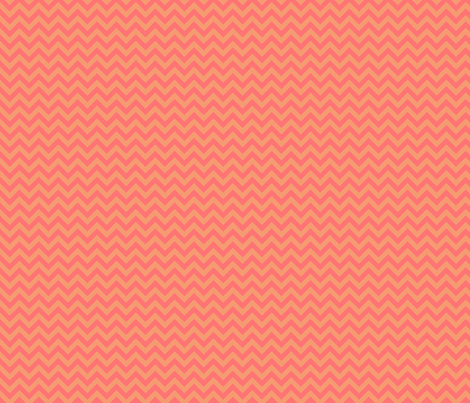 Another Melon Chevron fabric by sugarxvice on Spoonflower - custom fabric
