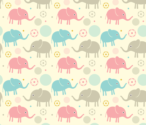 Pure babies No.1 fabric by rozo on Spoonflower - custom fabric