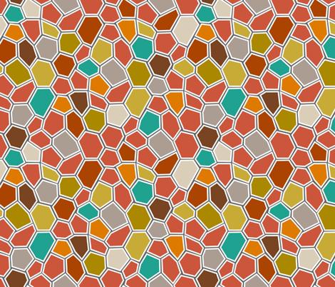 BrightMosaic fabric by mrshervi on Spoonflower - custom fabric