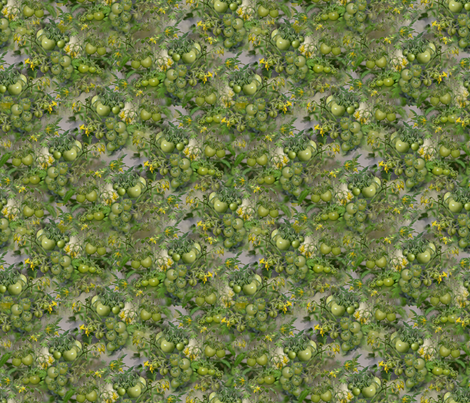 Green Tomatoes fabric by eclectic_house on Spoonflower - custom fabric
