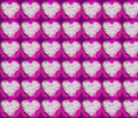 Shreaded Heart fabric by kimi_compassion on Spoonflower - custom fabric