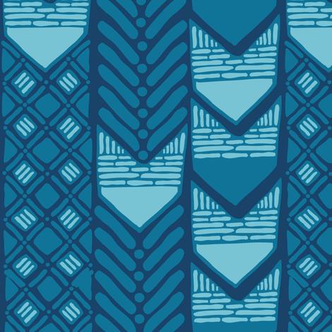 African Indigo fabric by wildnotions on Spoonflower - custom fabric