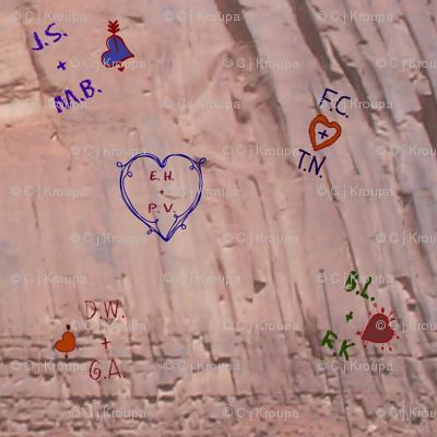 Love Letters Graffiti