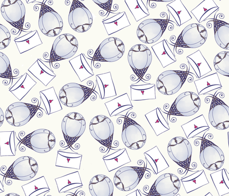 balloons fabric by motyka on Spoonflower - custom fabric
