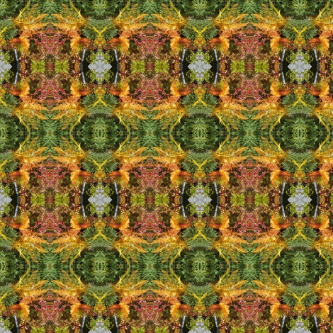 Autumn Ferns fabric by taztige on Spoonflower - custom fabric