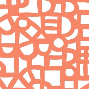 Windows - Coral - Wallpaper