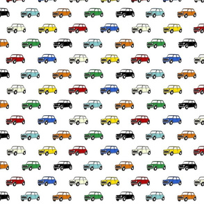Mini Car Fabric