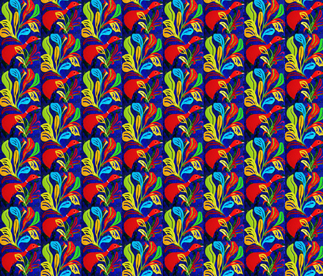 Red Duck fabric by sarahdesigns on Spoonflower - custom fabric