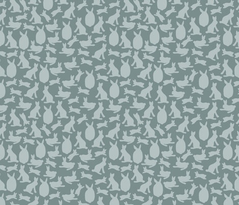 bundle-of-rabbits fabric by kirsten_miller on Spoonflower - custom fabric