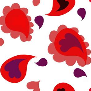 Paisley Hearts