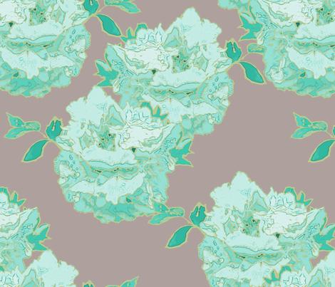 Peony fabric by miart on Spoonflower - custom fabric