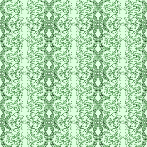 lace-green fabric by krs_expressions on Spoonflower - custom fabric