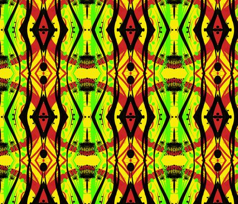 Cocamonga fabric by pattyseeger on Spoonflower - custom fabric