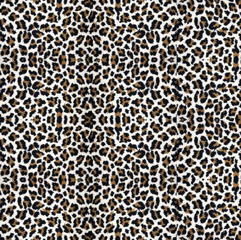 Sweet Leopard SUGAR sack Paris Bebe fabric by parisbebe on Spoonflower - custom fabric