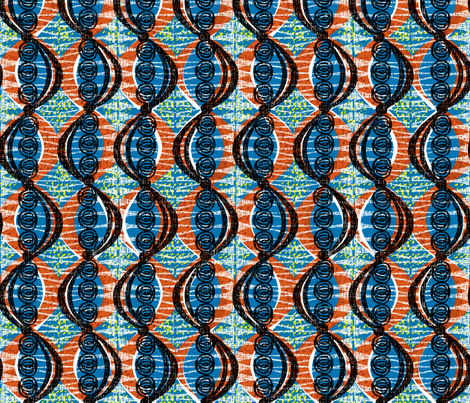acacia pod-African fabric by ottomanbrim on Spoonflower - custom fabric