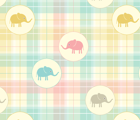 Pure babies No.2 fabric by rozo on Spoonflower - custom fabric