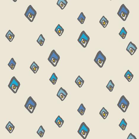 matisse - cream fabric by randomarticle on Spoonflower - custom fabric
