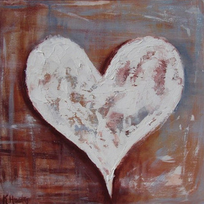 Texture Painted Heart