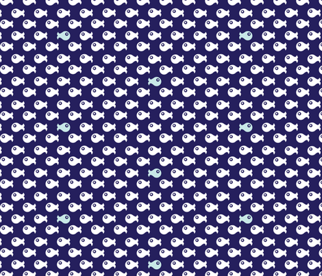 Fishes fabric by plaidgoose_designs on Spoonflower - custom fabric