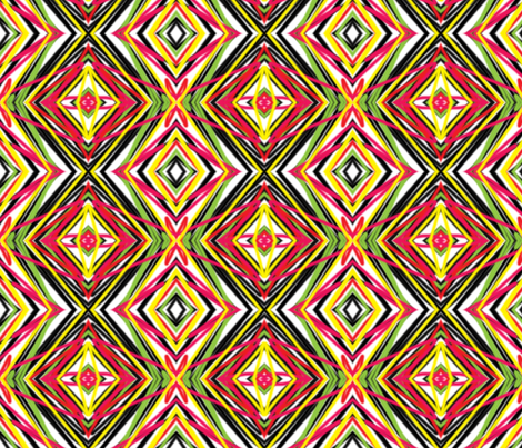 DelilahChevron fabric by ghennah on Spoonflower - custom fabric